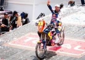 Despres sul podio della Dakar 2012