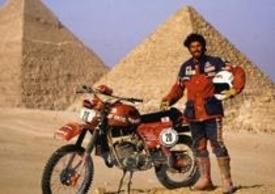Beppe Gualini al Faraoni con la Fantic RSX 125