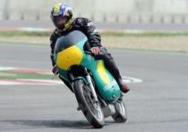 Anche moto d'epoca in pista al Pirelli Day