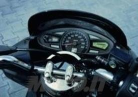 Il cruscotto dell'Honda PCX