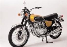 """La CB 500 Four del 1971. Il suo 4 cilindri si prestava bene a essere elaborato per le """"derivate"""""""