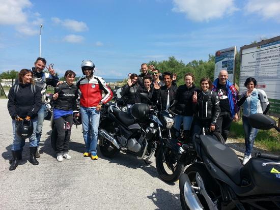Corsi moto: successo ad Adria per Donneinsella