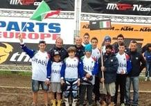 Maglia Azzurra Junior Motocross: sesto posto per l'Italia in Belgio