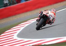 MotoGP. Marquez in testa nel warm up a Silverstone