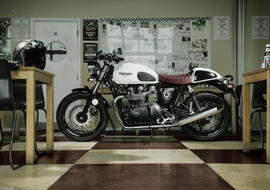 Nuova Triumph Thruxton Ace Special Edition