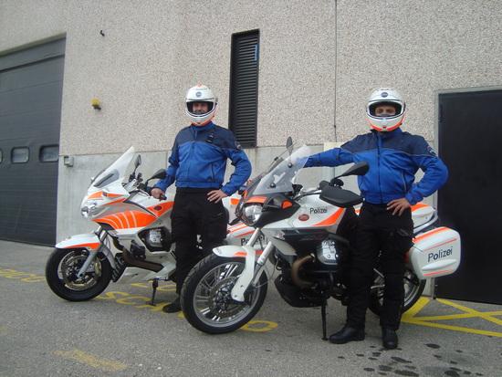Airoh: nuova collaborazione con il reparto Motociclistico della Polizia Cantonale del Ticino