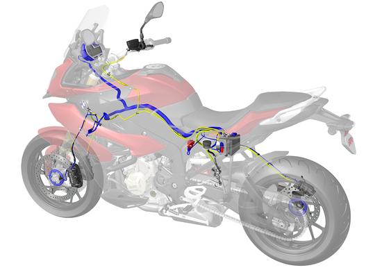 La gestione elettronica della S1000XR integra tutti gli aspetti