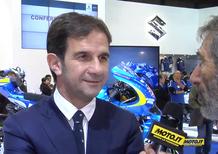 Davide Brivio intervistato da Nico Cereghini a EICMA. A Valencia per prendere appunti