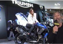 Triumph Tiger 800 2015, video EICMA