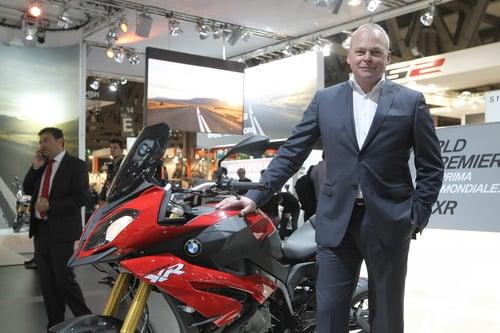 Stephan Schaller e la nuova BMW S1000 XR