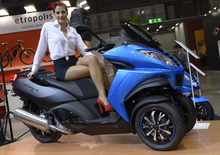 Peugeot Scooter 2015, video EICMA
