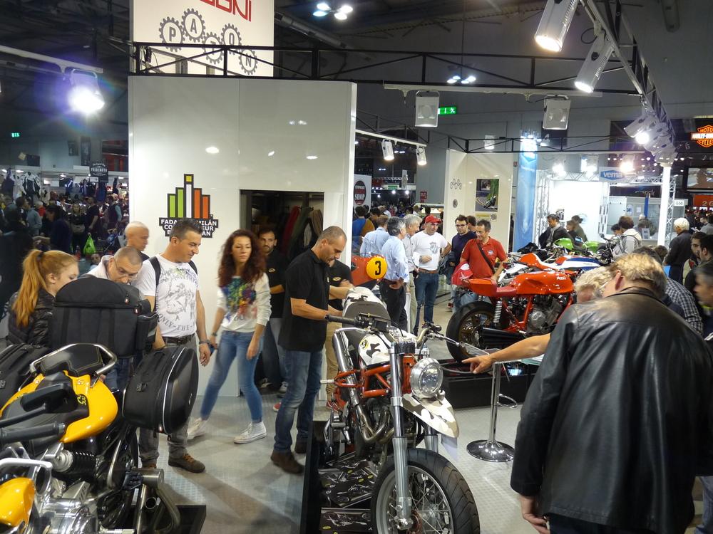 Stand Officina Moto Italia