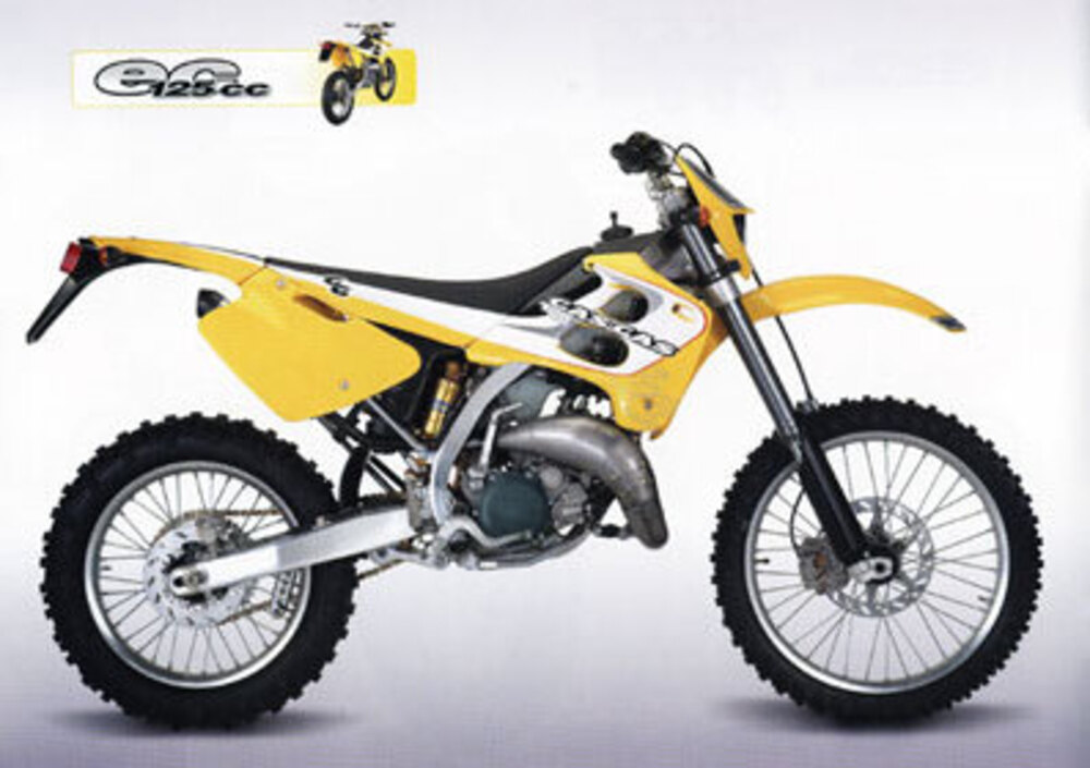 Gas Gas EC 125 WP (2000 - 01)