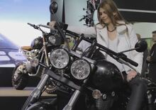 Triumph Bonneville Special, Thunderbird Night Storm e Rocket X, video EICMA