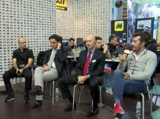 Da sinistra: Couet, Buzzoni, Armuzzi e Basile, gli ospiti del dibattito