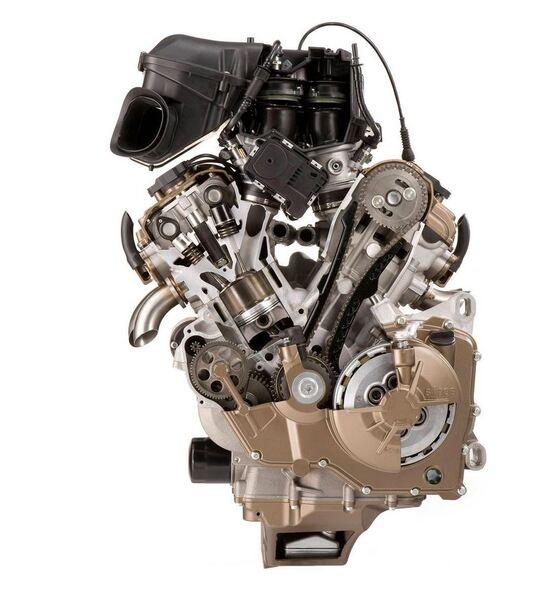 Il motore Aprilia RSV4