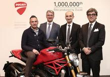Consegnata la milionesima Ducati, una Monster 1200S