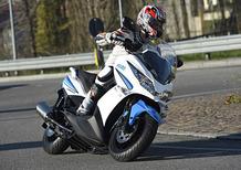 Marco Faccani tester d'eccezione per il Kawasaki J300 by Polini