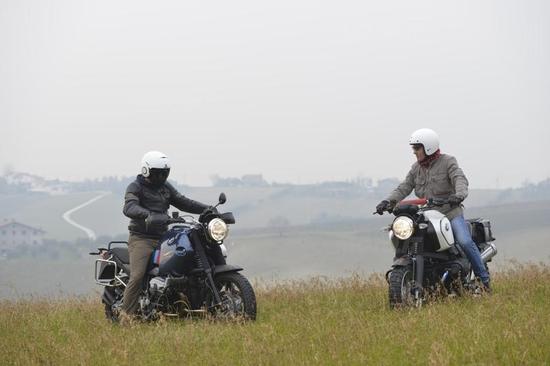 Fabio Marcaccini (sulla destra) in compagnia del nostro tester