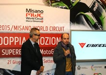 Dainese safety partner del Misano World Circuit con la linea D-Air