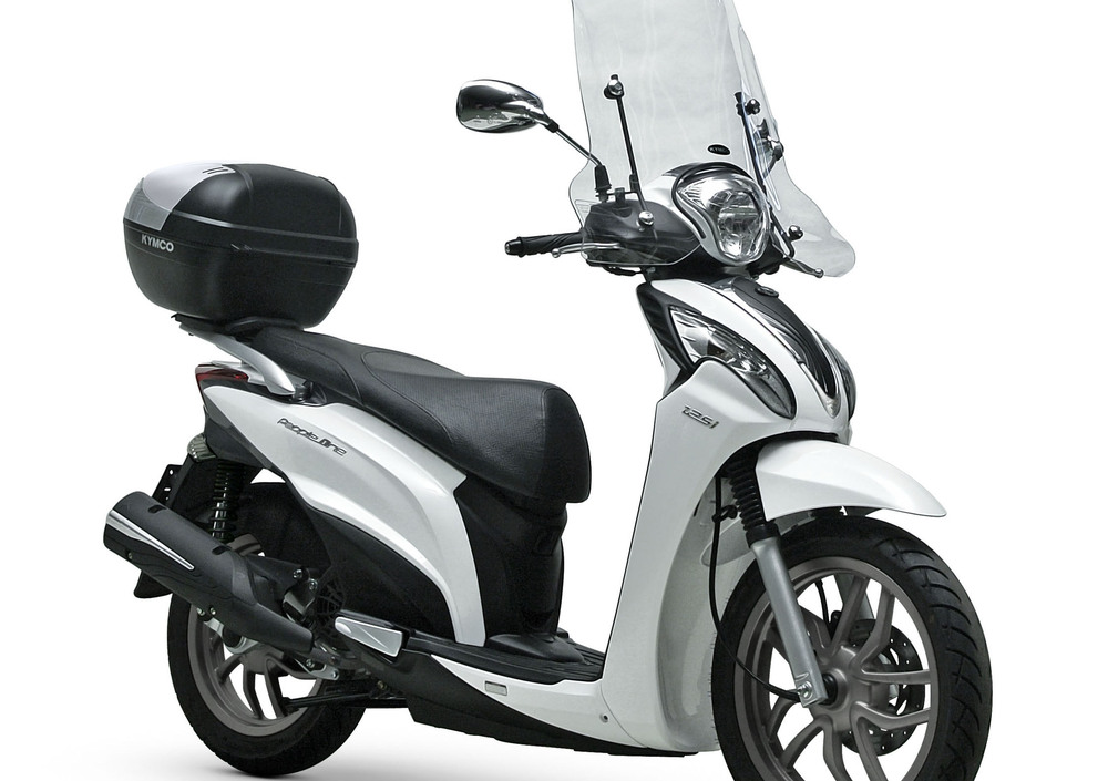 Kymco People One 125i (2014 - 16) (4)