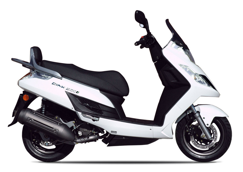 Kymco Dink 200i DD (2007 - 17) (5)