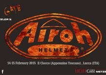 Airoh sponsor dell'Hell's Gate Metzeler 2015