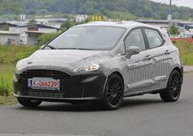 Nuova Ford Fiesta ST: primi test per il muletto