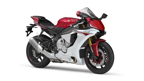 La colorazione Race Red della Yamaha R1 2015