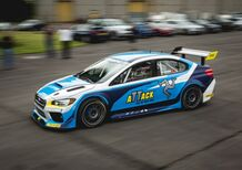 Subaru WRX STi, il video del record al Tourist Trophy 2016