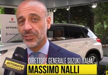 """Nalli, Suzuki: """"Non potevamo mancare al Salone dell'Auto di Torino!"""""""