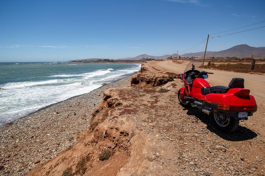Ride in the USA. La Baja California