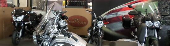 Roby's garage diventa concessionario ufficiale Moto Guzzi