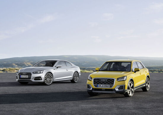 Audi: ordinabili da ora le nuove Q2, A5 e S5