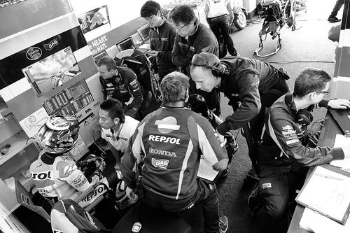 MotoGP. Le foto più spettacolari del GP di Germania (9)