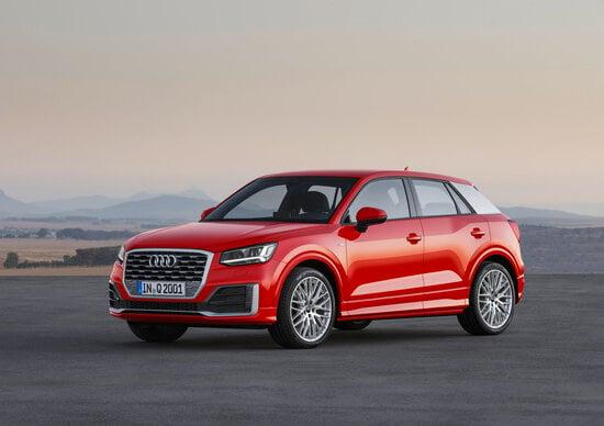 Audi Q2: i prezzi di listino