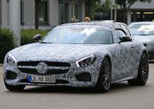 Mercedes AMG GT Roadster: lo spy della versione scoperta