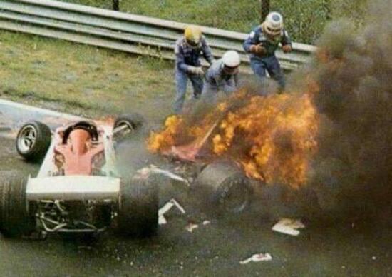 1 agosto 1976: 40 anni fa l'incidente di Lauda al Nürburgring