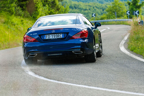 Mercedes-Benz SL restyling (W231): le foto più spettacolari (4)