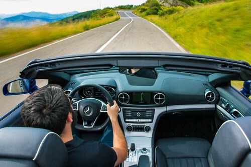 Mercedes-Benz SL restyling (W231): le foto più spettacolari (2)