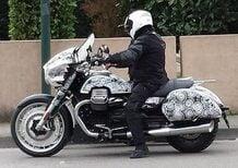 Moto Guzzi California in versione Bagger