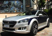 Peugeot 508 RXH by Castagna: una nuova one-off per un architetto milanese