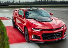 Chevrolet Camaro ZL1, svelate le prestazioni. Sono da urlo