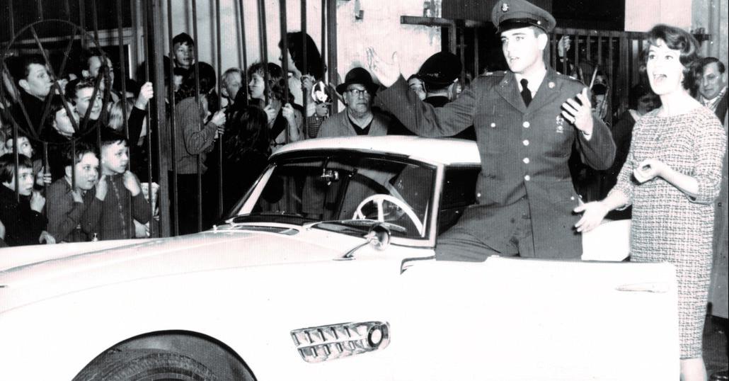 Torna in strada la BMW 507 di Elvis Presley
