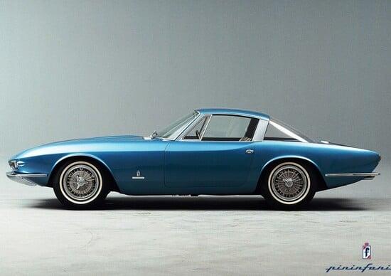 """La """"Corvette Rondine"""",concept da cui nacque la 124 di Tom Tjaarda"""