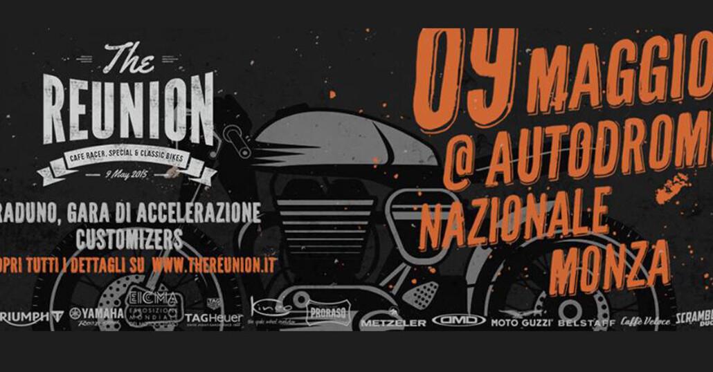 The Reunion, il 9 maggio all'Autodromo di Monza