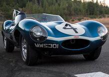 Una Jaguar D-Type del 1955 venduta all'asta per 21 milioni di dollari