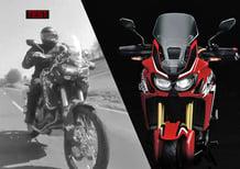 Honda Africa Twin 2015: video e sound