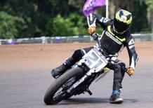 La Ducati di Troy Bayliss per le gare di Flat Track