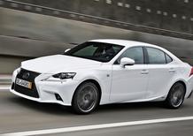 Lexus IS festeggia il milione di unità vendute